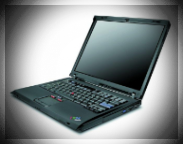 Repasovaný notebook IBM ThinkPad R52